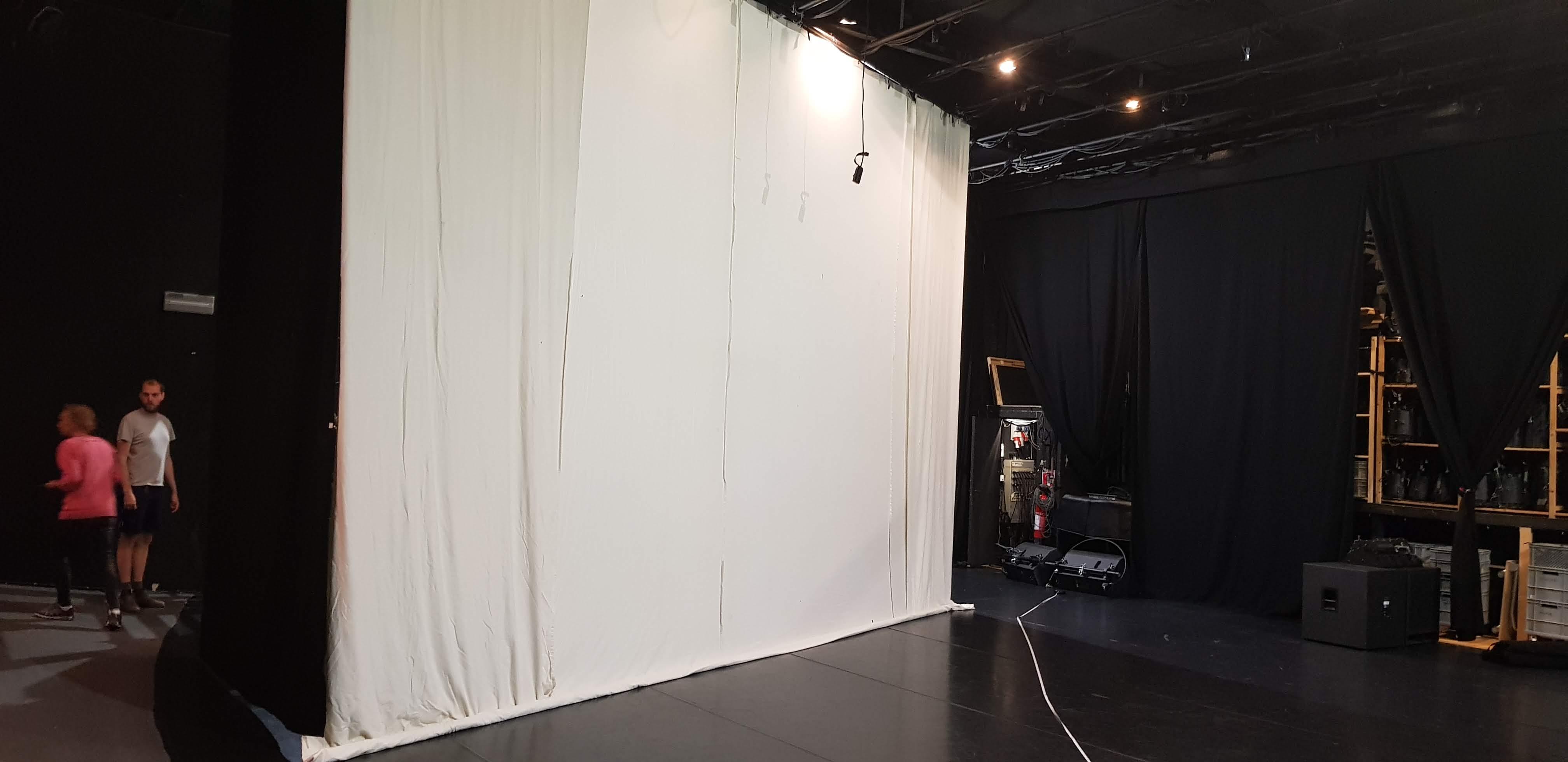 Arbetet på scenen
